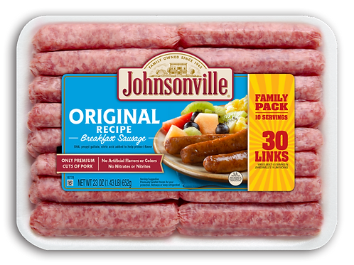 JOHNSONVILLE ORIGINAL BREAKFAST SAUSAGE