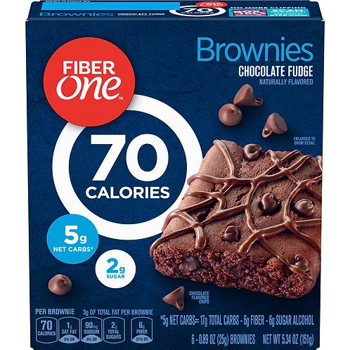 FIBER ONE BROWNIES CHOCOLATE FUDGE 5.34OZ