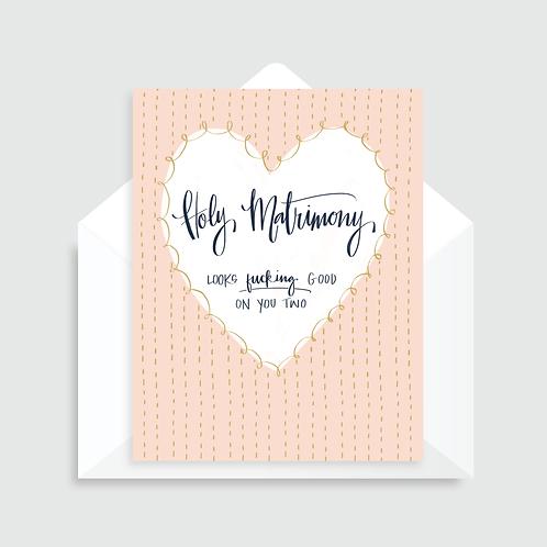 WHL - HOLY MATRIMONY