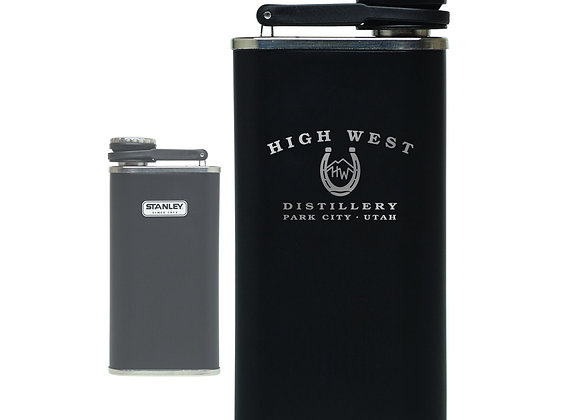 High West 8 oz. Matte Black Flask