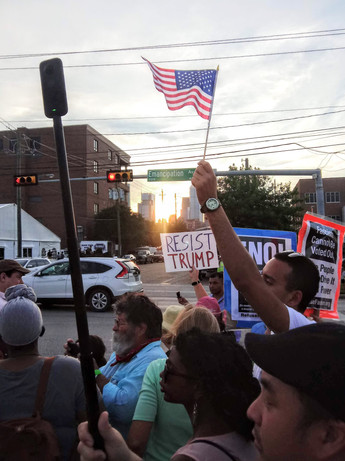 Protest against ICE juvenile detention facility, September 2019