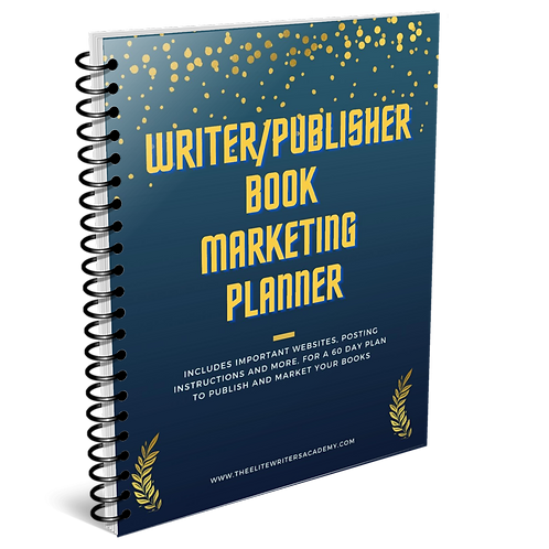 Writer/Publisher Book Marketing Planner
