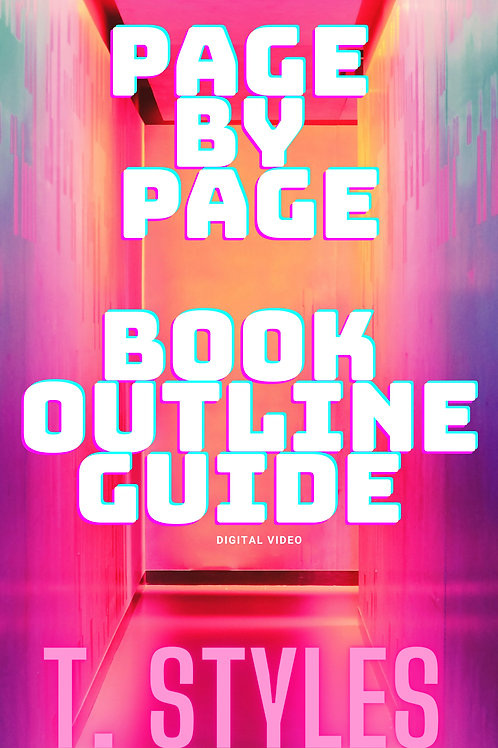PAGE BY PAGE BOOK OUTLINE GUIDE