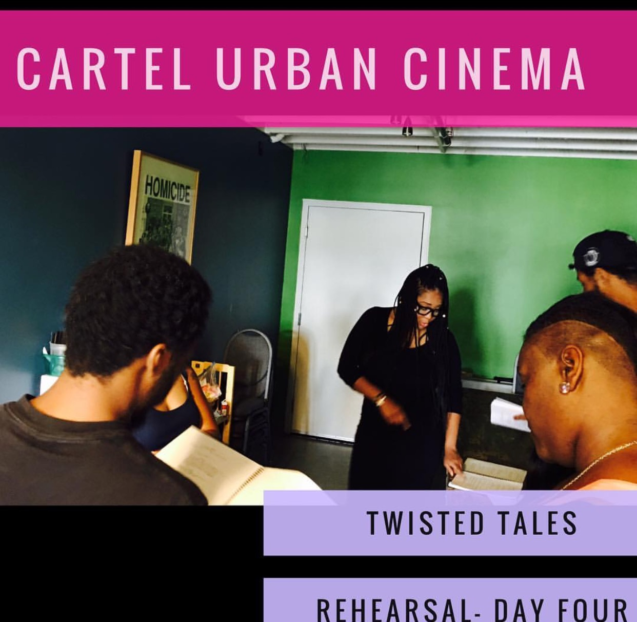 Author T. Styles Cartel Urban Cinema 1