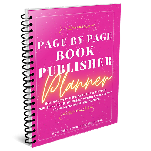 Page By Page Book Publisher Planner