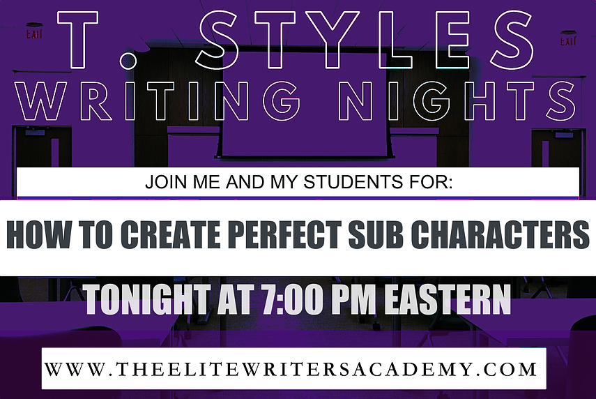 HOW TO CREATE THE PERFECT SUB CHARACTERS