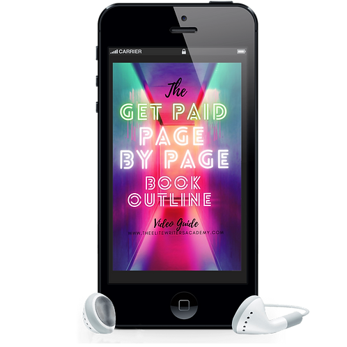 The Get Paid Page By Page Book Outline Video Guide