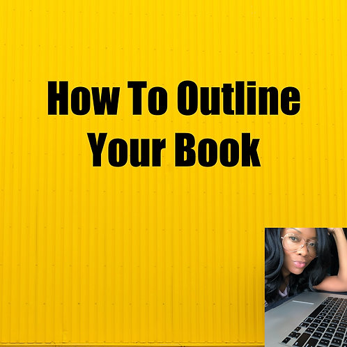 How To Outline Your Book