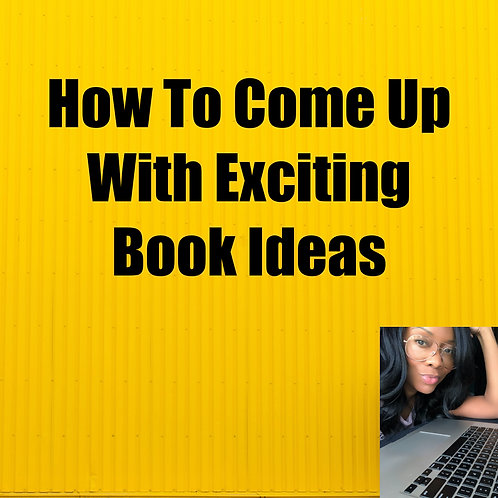 How To Come Up With Exciting Book Ideas