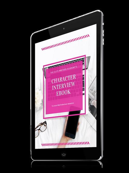 Character Interview Ebook