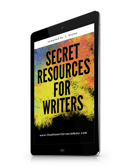 Secret Resources For Writers
