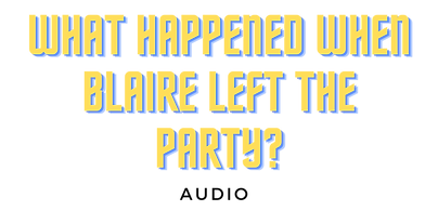 what happened when blaire left the party