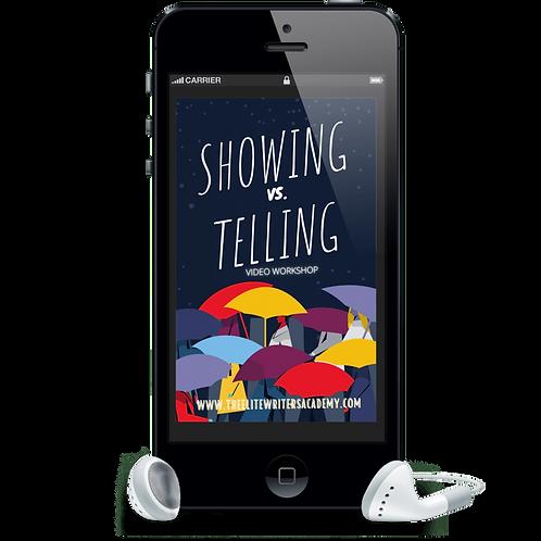Showing Vs. Telling - Video Workshop