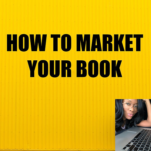 How To Market Your Book When Completed