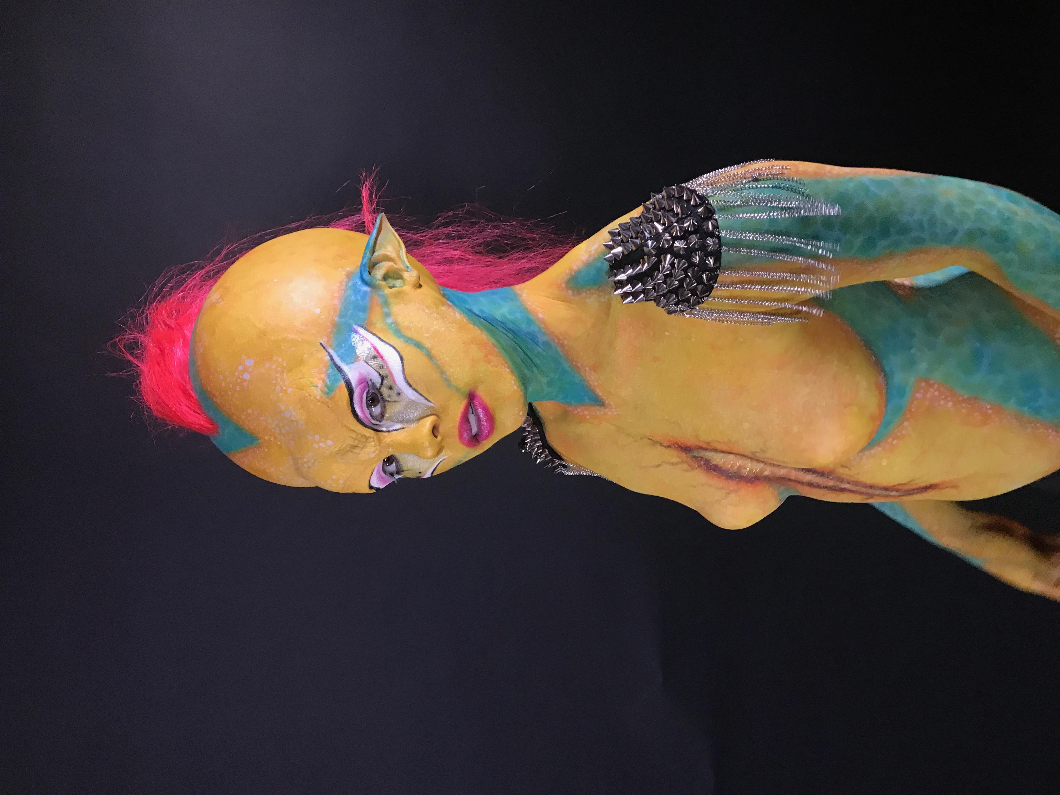 Galaxy Babe by Carleigh Herbert