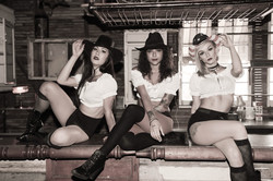 Sassy's Saloon Girls
