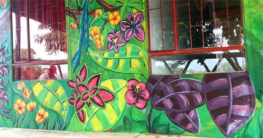 Finca Carolina Mural 4