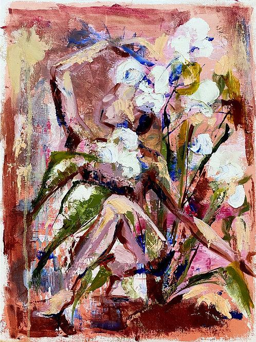 A Yogi and Some Flowers