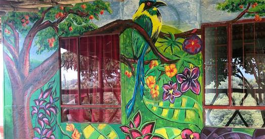 Finca Carolina Mural 5