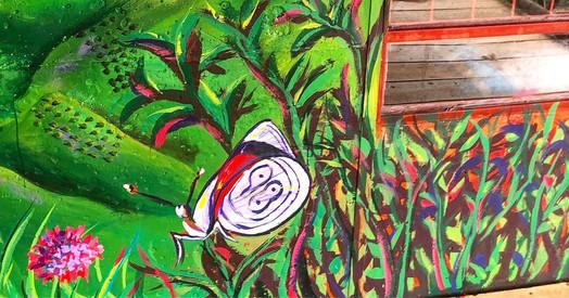 Finca Carolina Mural 8