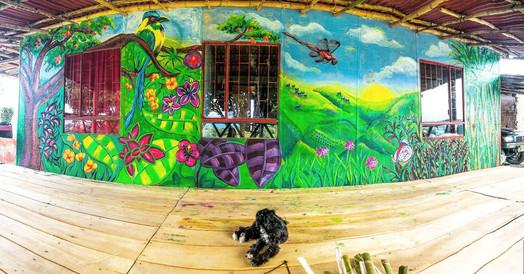 Finca Carolina Mural 1