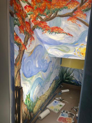 Flamboyant Mural 2