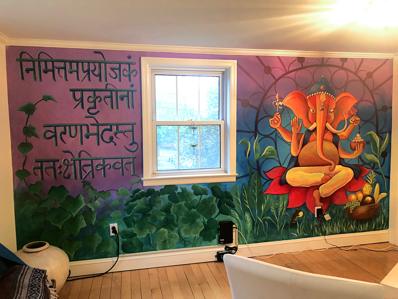 Ganesha Mural 1