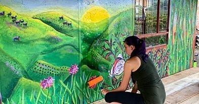 Finca Carolina Mural 6