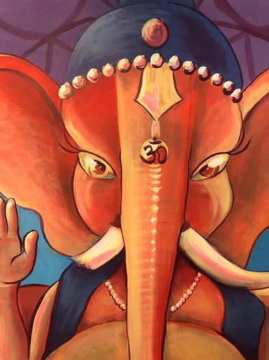 Ganesha Mural 6