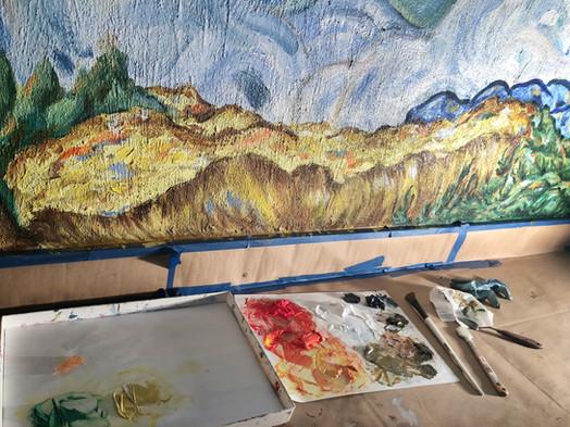 Flamboyant Mural 4