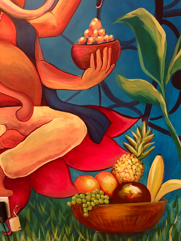 Ganesha Mural 5