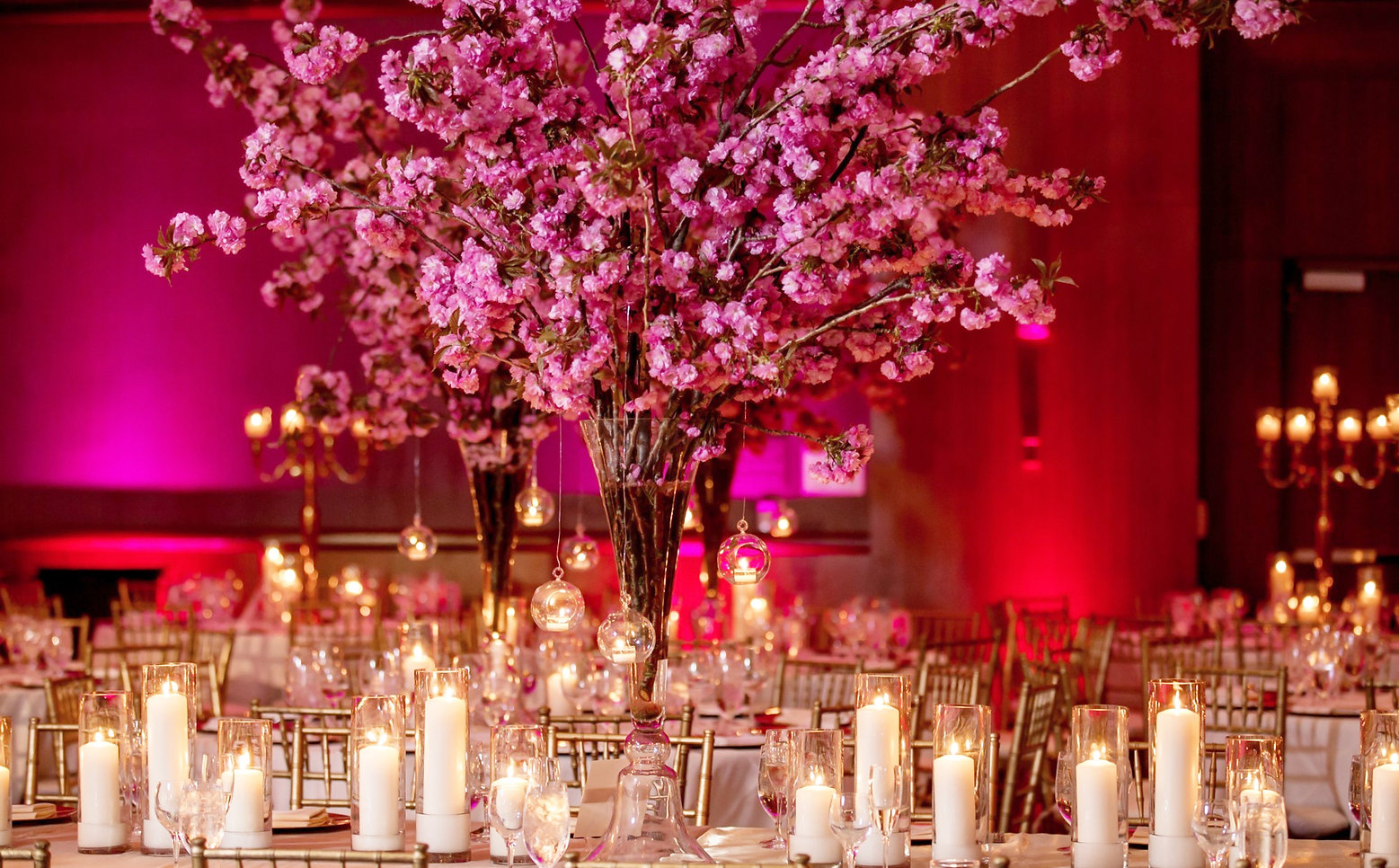 Indian Pakistani wedding hall decoration