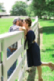 country fence kiss (1 of 1).jpg