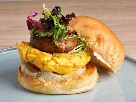 藍起司松露洋芋泥蕈菇漢堡 介紹