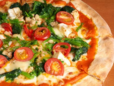 羅馬式11吋蔬食披薩 介紹