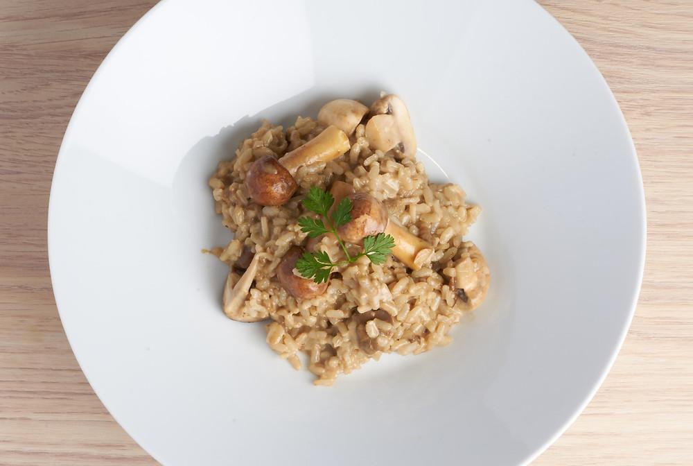 牛肝菌燉飯 | 蔬軾 創意蔬食料理