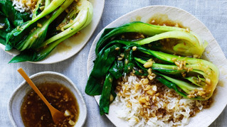 Bok choy with garlic sauce recipe