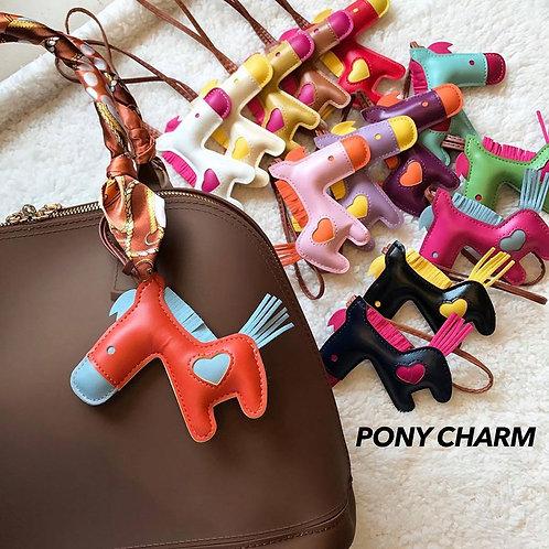 Pony Bag Charm