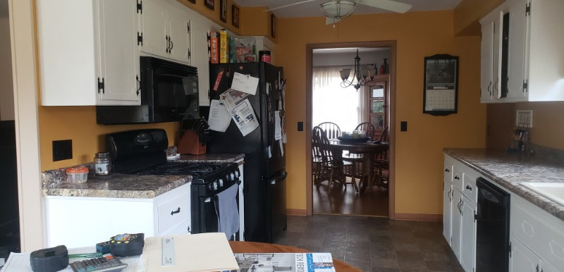 BEFORE - New Berlin Kitchen Remodel