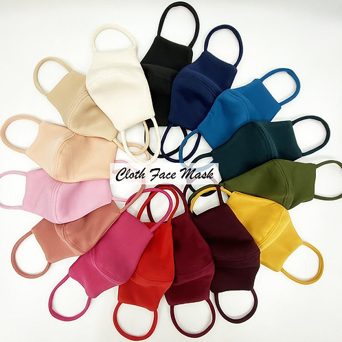 Face Mask Cloth Material Handmade