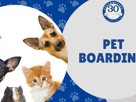 Holiday Pet Boarding!