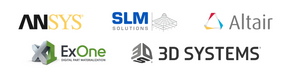 Ansys, SLM Solutions, Altair, ExOne, 3D systems join Dyndrite