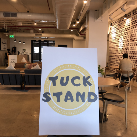 Tuck Stand Can Help You With A Plethora of Event Requests - Here's Another Example