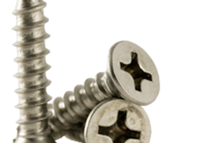 12A X 2 PH FLAT HEAD 316 STAINLESS TYPE A TAPPING SCREW