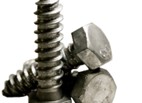 "3/8""-7x4"" HEX LAG SCREW LOW CARBON STEEL HOT DIPPED GALVANIZED"