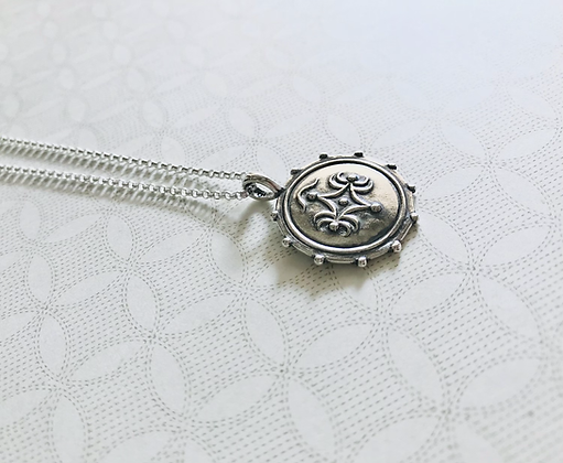 Silver Mildred Necklace
