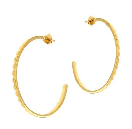 Gold Clementine Hoop