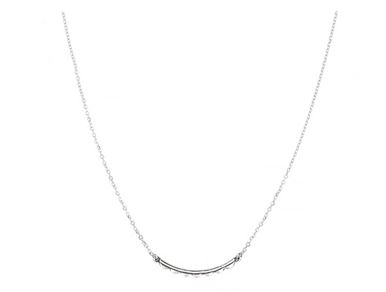 Silver Clementine Necklace