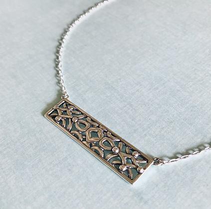 Silver Edith Necklace