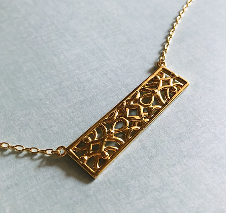 Gold Edith Necklace